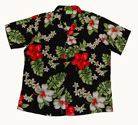 Haleakala Black Men Hawaiian Shirt