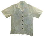 Hawaiian Cream Wedding Shirt
