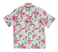 Hawaiian Hibiscus Garden Men Shirt