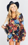 Ladies Mumu Nolita Mini Bloom Bloom Dress
